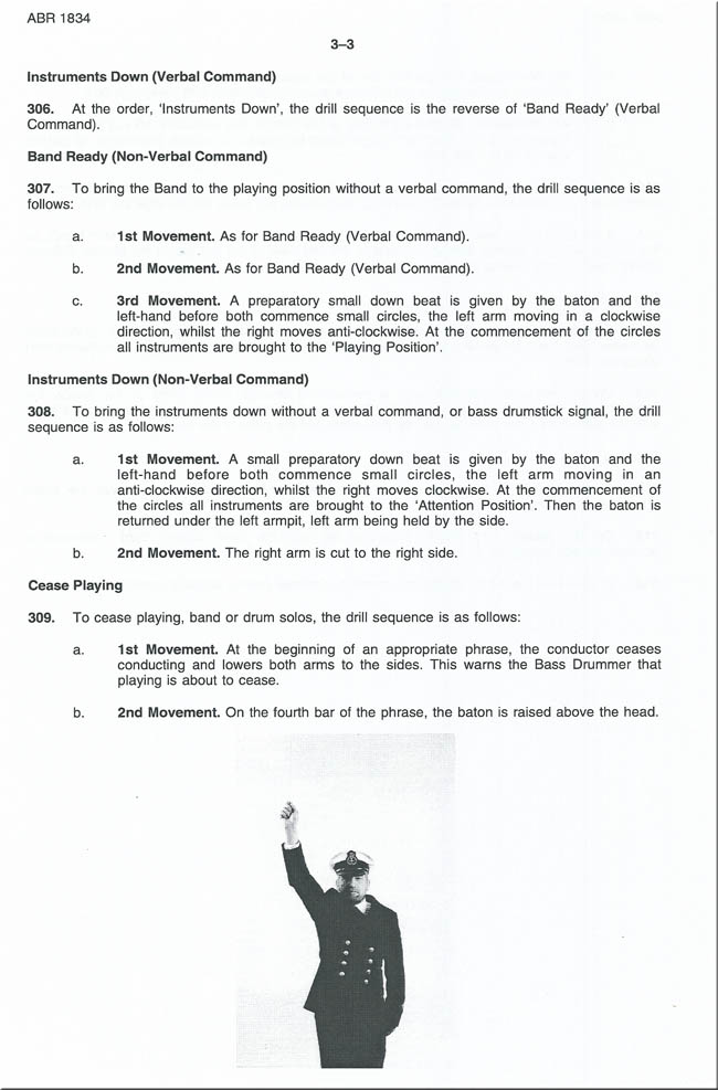 ROYAL AUSTRALIAN NAVY BAND ASSOCIATION - Drill Manual 1995