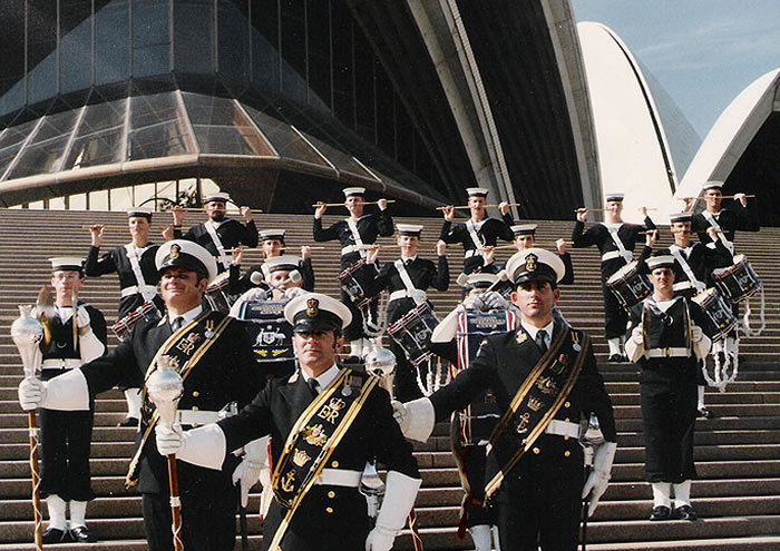 RAN Band at the Sydney Opera House
