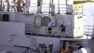 HMAS Sydney and HMAS Vampire - 1972 RAS Vietnam 1972
